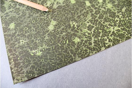 Papier florentin - Terre et or