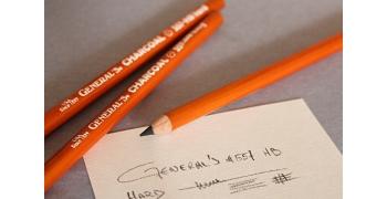 Crayon General's Charcoal Pencil 557-HB Hard