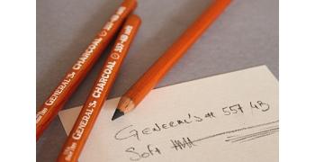 Crayon General's Charcoal Pencil 557-4B Soft
