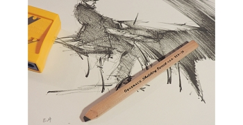 Crayon General's Charcoal Pencil 529-6B Soft