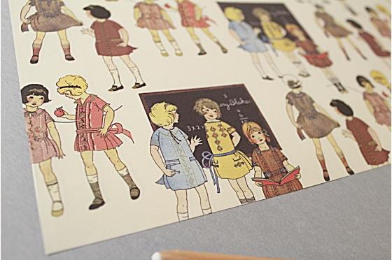 Papier décoratif Rossi1931© - Fashion child