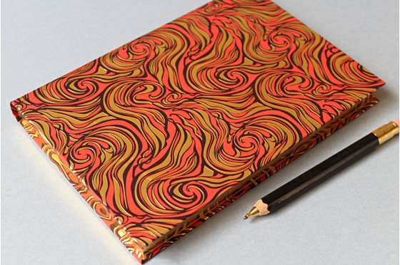 Notebook A5 red Rossi1931©