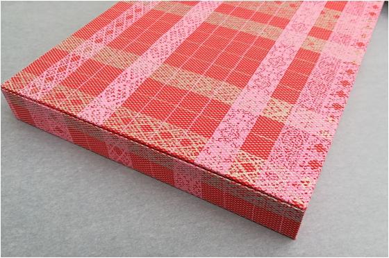Boite en papier japonais format A4.