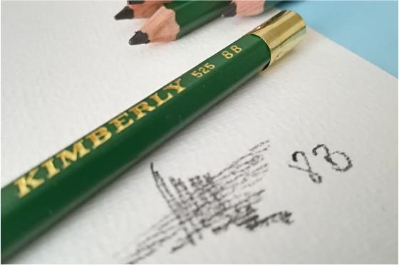 Crayon 8B Graphite Kimberly® 525-8B