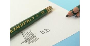 Crayon 3B Graphite Kimberly® 525-3B soft