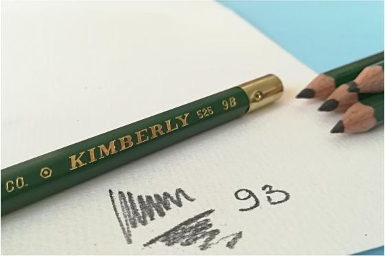 Crayon 9B Graphite Kimberly® 525-9B