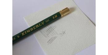 Crayon 3H Graphite Kimberly® 525-3H