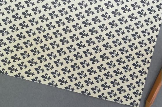 Papier décoratif Rossi1931© - Lys bleu