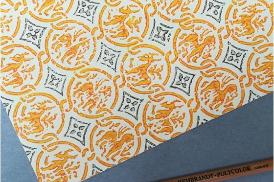 Papier décoratif Rossi1931© - Sceau