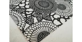 KATAZOME Fleurs monochrome format A4