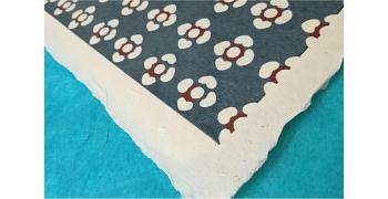 KATAZOME shi 65g/m2  potentilles bleu gris