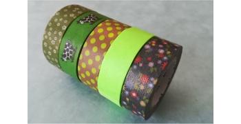 Lot de 5 masking-tape mt©