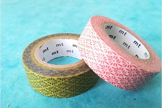 Lot de 2 masking-tape mt© motifs japonais