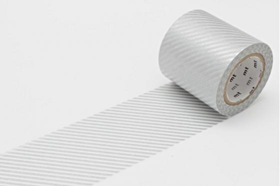 masking-tape casa© rayé argent