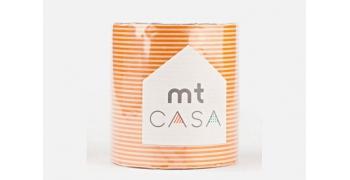 masking-tape casa© orange rayé