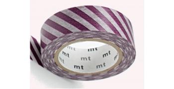 MT rayé violet