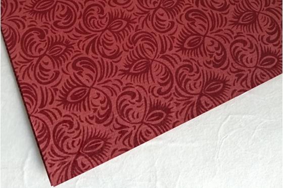 Papier indien Jasmine rouge