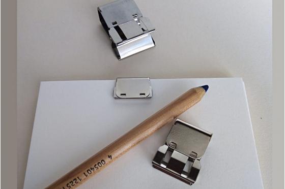 Clip amovible en acier (Par 3)