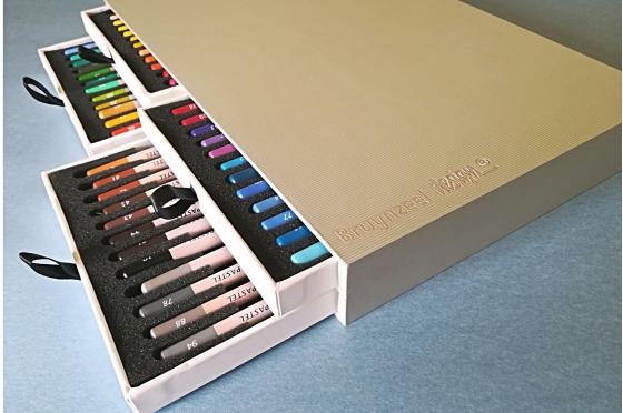 48 Crayons Pastel Bruynzeel Design®
