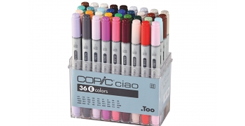 Set de 36 feutres Copic Ciao SET D