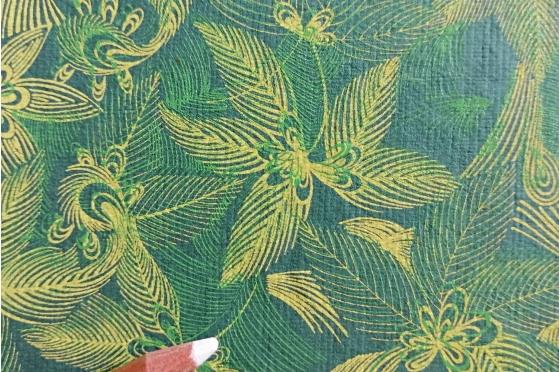 Papier indien impression jungle