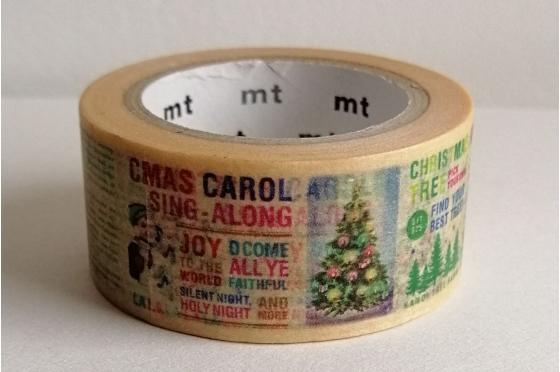 Masking tape mt© Noël Christmas 2017