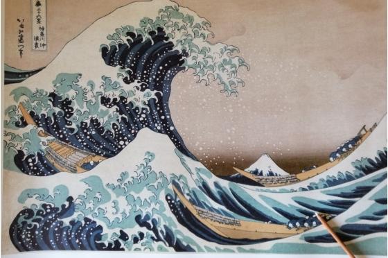 Affiche - La grande vague de Kanagawa