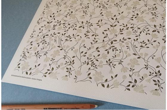 Papier italien embossé 110g/m2 Rossi1931©