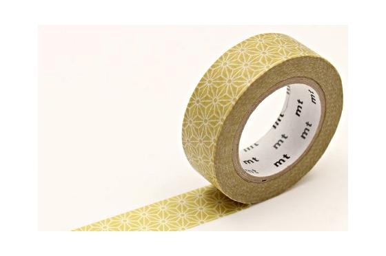 masking-tape deco© Asanoha Karekusa écru