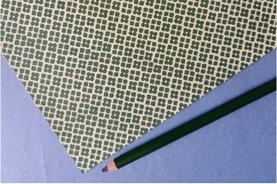 Papier florentin - Jardin Versailles vert