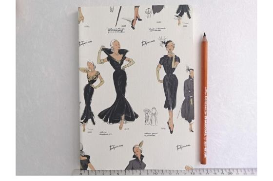 Cahier souple mode femme A5