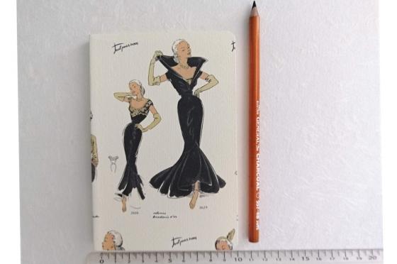 Cahier souple mode femme format A6
