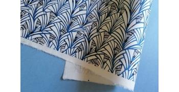 KATAZOME shi 65g/m2  Palmiers bleu
