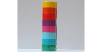 Masking tape set 8 coloris