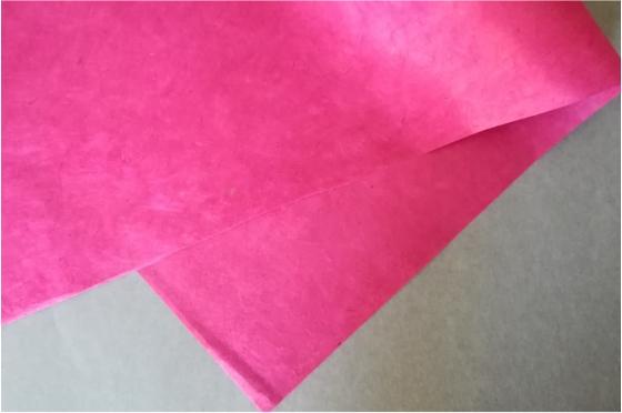 Papier Lokta Cranberry