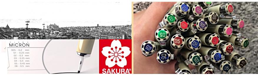 Feutre Pigma® Sakura