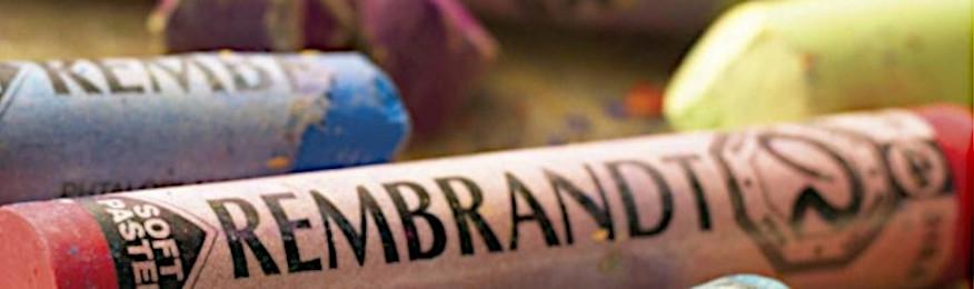 BLANC & NOIR - Pastel tendre Rembrandt®