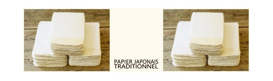 Papier japonais traditionnel