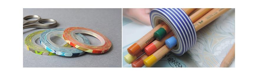 Idées de réalisations avec du washi tape.